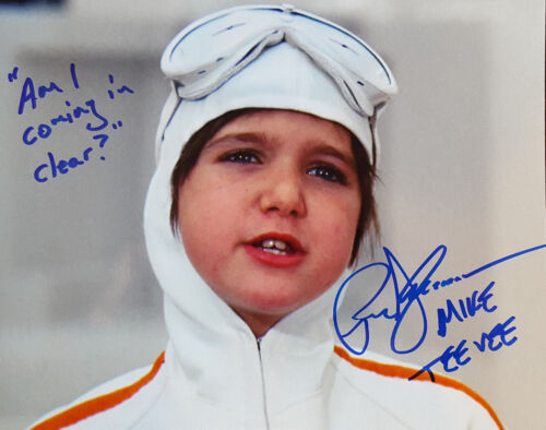 PARIS THEMMEN signed WILLIE WONKA MIKE TEE VEE 8x10 PHOTO w/ PROOF LOT D