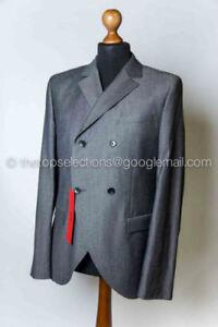 Boss-Par-Hugo-Veste-De-Artin-Taille-50-L-Neuf-Gris-Jacktes-Blazer-40R-Anthracite