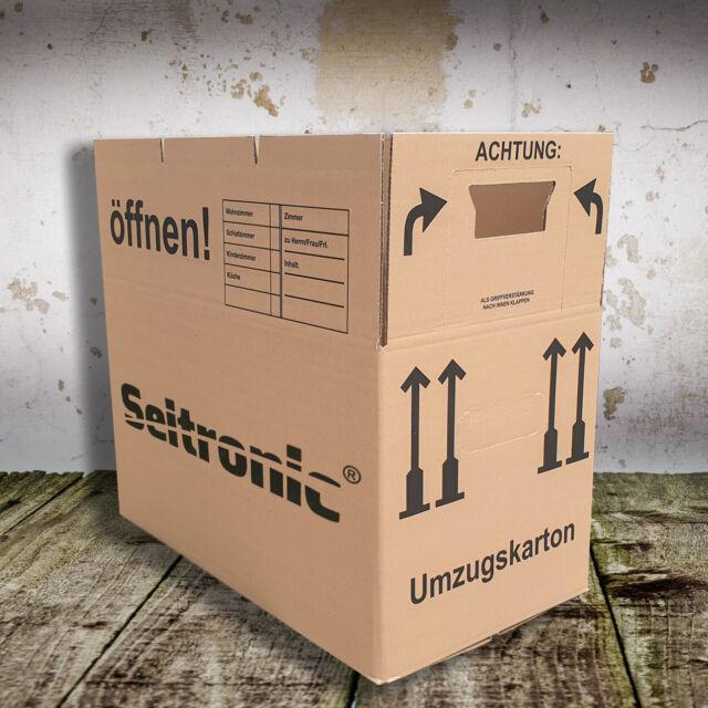 Umzugskartons Umzug Karton 2-wellig 45kg Profi Umzugskisten Movebox Bücherkarton