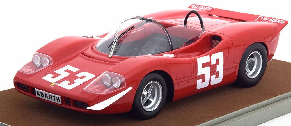 sorteos de estadio Tecnomodel Abarth 2000 S Ganador Ganador Ganador Nurburgring 1969 HEZEMANS  53 1 18 edición limitada de 50  nuevo   tomamos a los clientes como nuestro dios