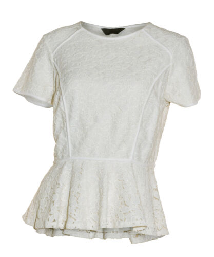 Ex Dorothy Perkins Ladies Lace Top Blouse NEW cream ivory 8  10 12