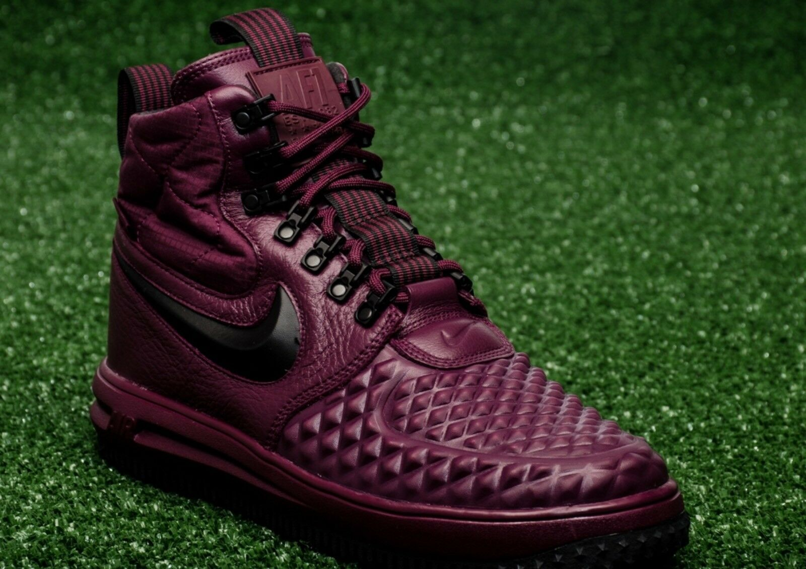DS MENS NIKE AIR LUNAR FORCE 1 DUCK BOOT 17 Bordeaux 916682 601 Price reduction Great discount