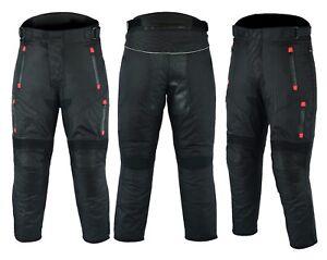 MCW-Gear-Motorbike-Motorcycle-Textile-Waterproof-Cordura-Trousers-Pants-Armours