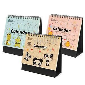 Cute Desk Calendar Desk In Japanese