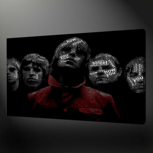 OASIS WONDERWALL CANVAS PICTURE PRINT WALL ART HOME DECOR FREE FAST DELIVERY