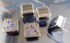 pack of 5 AEL Crystals AEL-1210CSN 12.288 Mhz crystal oscillator 4 pin 5V
