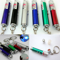 2 In1 Mini Red Laser Pointer Pen With White LED Light Childrens Pet Cat Toy New