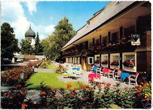 Um 1971 Geschickte Herstellung Hinterzarten Hochschwarzw. Park-hotel Adler MüHsam Ak