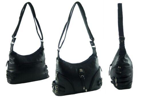 Tasche Damentasche Handtasche Schultertasche Umhängetasche in Lederoptik NEU