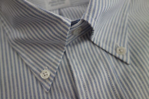 NWOT Brooks Brothers Blue Oxford Button Down Regent Fit Slim MSRP $140