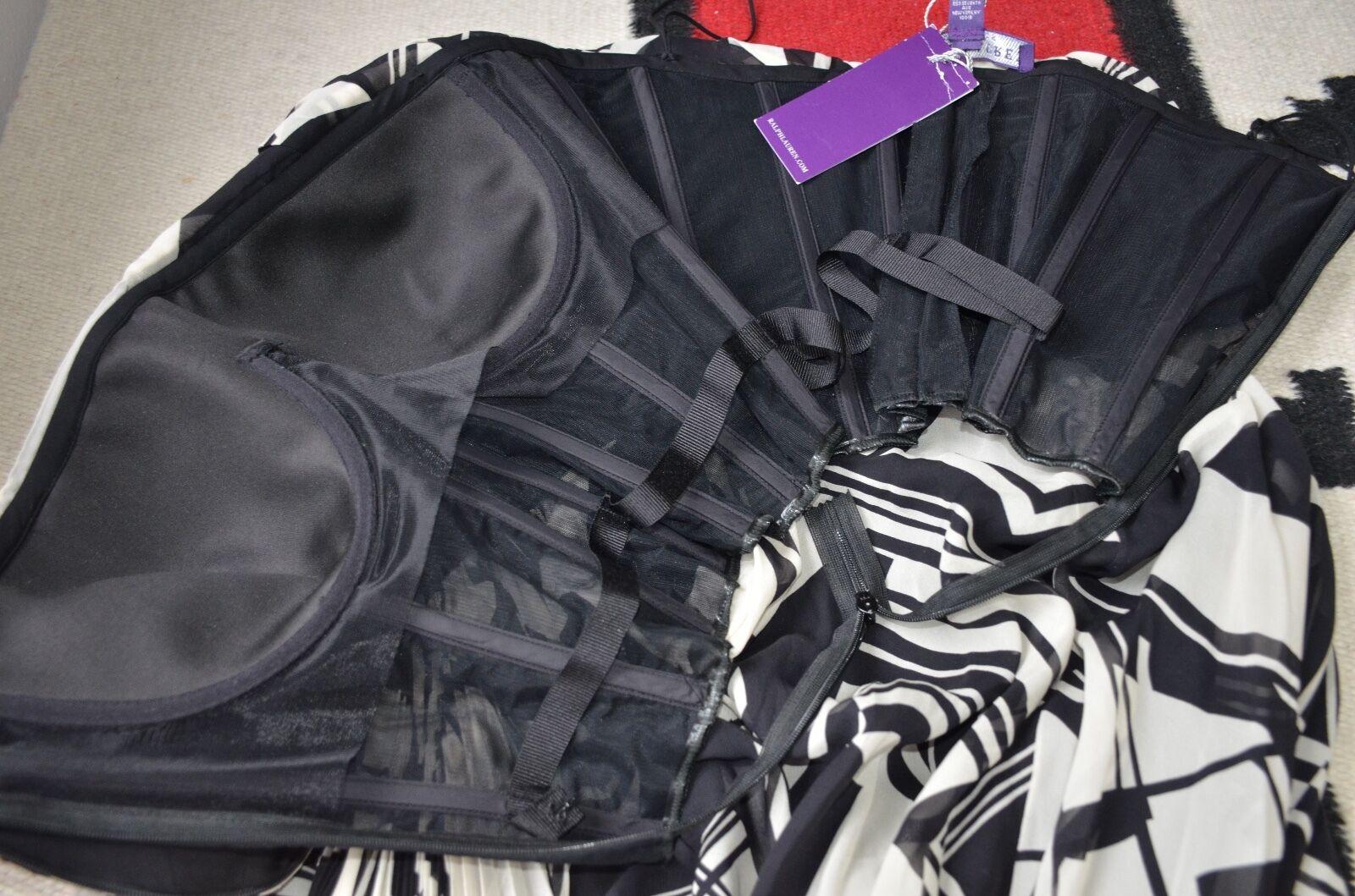 Ralph Lauren Collection Purple Purple Purple Label Made in  100% Silk Gown Dress d91f5c