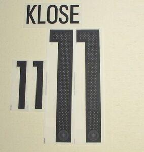 Klose Fenster aktuell dfb deutschland klose 26 cm flock für adidas home trikot em