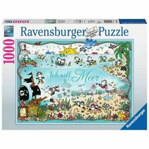 SHEEPWORLD - UNTER DEM MEER - Ravensburger Puzzle 15008 - 1000 Teile Pcs.