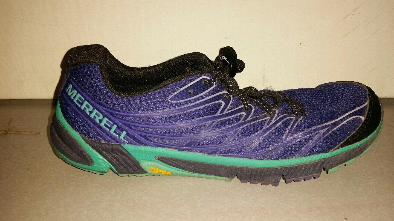 MERRELL LIBERTY TRAIL RUNNING RUNNING RUNNING SHOES PURPLE VIBRAM SOLES WOMENS SIZE 8 J37754 891c37