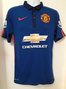 Manchester United 2014/15 3rd Maglietta Da Calcio Nike Taglia S adulto... di Maria 7. in buonissima condizione