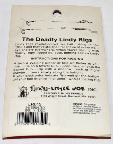 Multiple Var Lindy Little Joe Master/'s Series Lindy Rig and Lindy Floating Rig