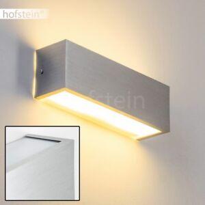 Dettagli su LED 7 W Luce Parete Lampada Muro Soggiorno Cucina Salotto  Ingresso Alluminio