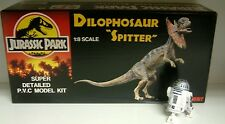 JURASSIC PARK : DILOPHOSAUR AKA SPITTER MODEL KIT MADE BY HOBBY
