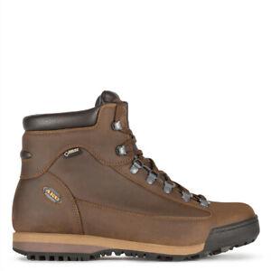 Aku Slope ltr leather Gtx 885.3 pedula trekking pelle e goretex brown marrone