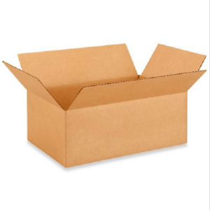 50 12x6x6 Cardboard Paper Boxes Mailing Packing Shipping Box Corrugated Carton