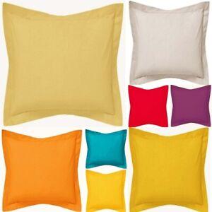 Border Bed Throw Pillow Case