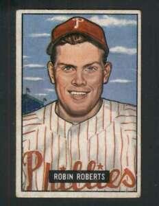 1951-Bowman-3-Robin-Roberts-VG-VGEX-Phillies-122394