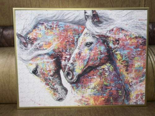 Jigsaw Puzzle 500 piece Puzzles Adult Kid Toy Learning Education Animal Horse US