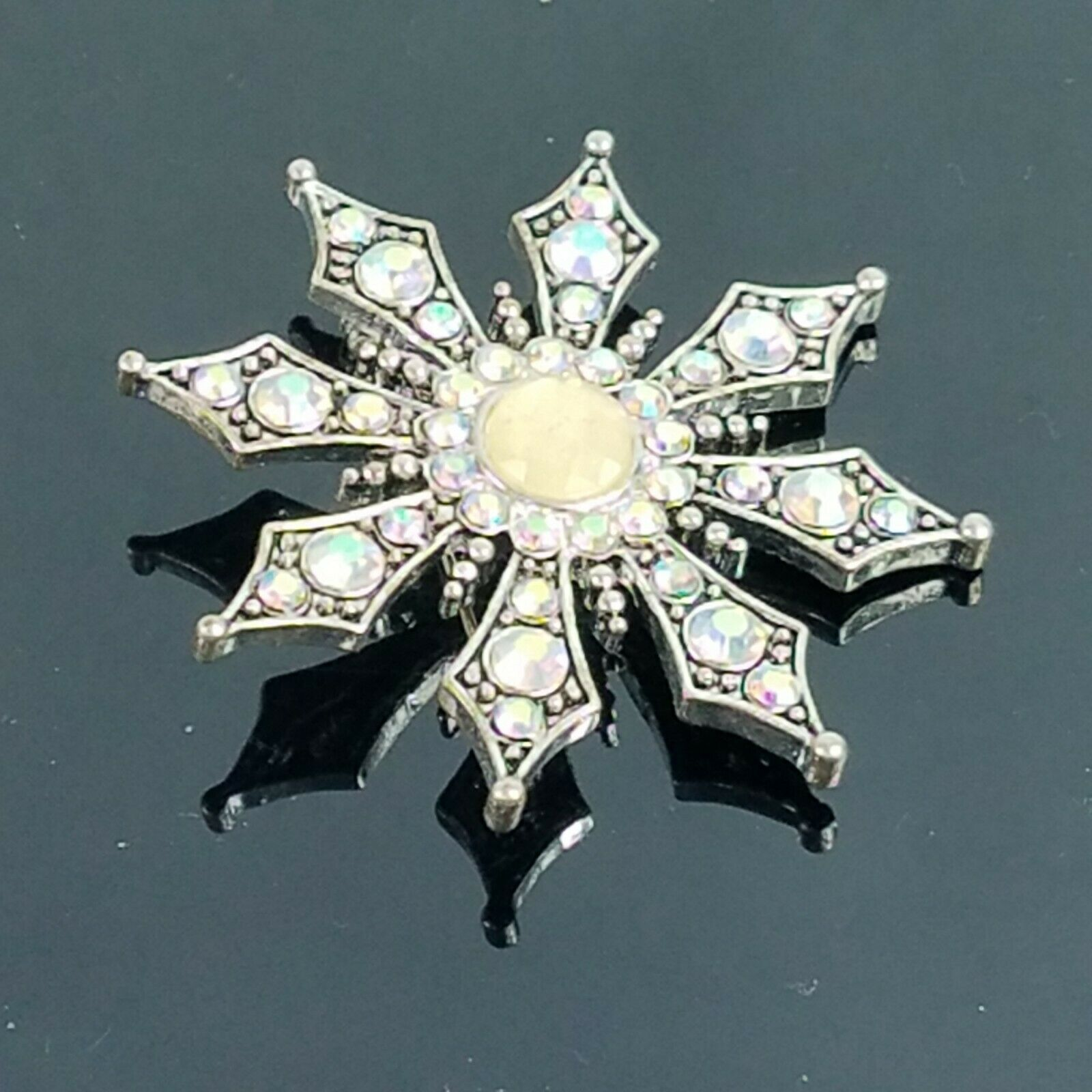 KC Kenneth Cole Swarovski Crystal Aurora Borealis… - image 3