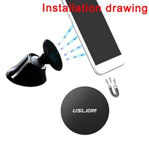 USLION-Metal-Plate-Disc-Magnet-Holder-Magnetic-Car-Mount-Sticker-for-Cell-Phone