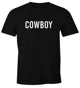 Herren-T-Shirt-Cowboy-Fasching-Karneval-Fastnacht-Faschings-Shirt-Fun-Shirt