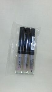 3 x Max Factor Vibrant Curve Effect Lip Gloss Understated #01