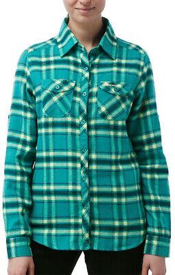 Craghoppers Valemont Long Sleeve Womens Check Shirt - Green Chinesische Aromen Besitzen