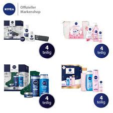NIVEA Geschenkset 4 tlg. Tagespflege Shampoo AfterShave für Frauen & Männer