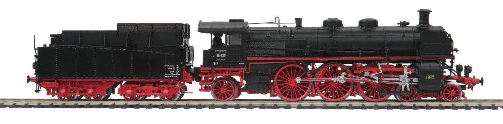 MTH 80-3217-5, clase 18.4 Locomotora de vapor con proto-Sound 3E Deutsche Bundesbahn