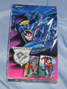 1996-AMALGAM-MARVEL-VS-DC-FLEER-SKYBOX-Trading-Cards-Factory-Sealed-BOX-24-PACK
