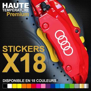 Stickers-autocollants-adhesifs-pour-etrier-de-frein-AUDI-Rings-Logo-Cercles