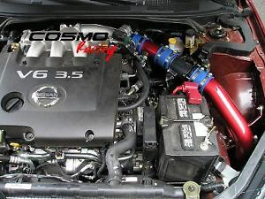 Racing-Cold-Air-Intake-fit-NISSAN-ALTIMA-2-5L-3-5L-4cyl-V6-02-06-Reusable-Filter