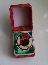 1986 Chinese China Czechoslovakia Diplomatic Relation 30th Anniversary Pin Badge