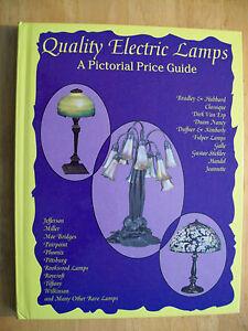 Vintage ANTIQUE ELECTRIC LAMP PRICE GUIDE COLLECTORS BOOK