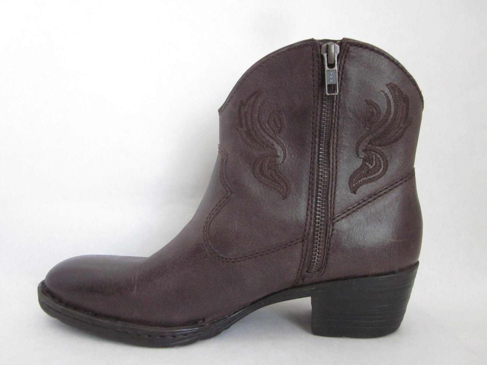 Born Riven Ebony (Brown) Western Cowboy Boots SIZE SIZE