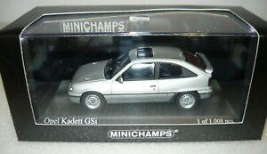 Minichamps-400045972-Opel-Kadett-GSi-1989-starsilber-metallic-1-43-NEU-amp-OVP