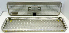 Aesculap Jf435r Surgical Stainless Steel Scope Sterilization Tray With Cover