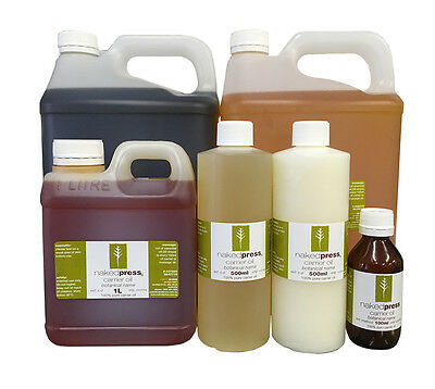 Carrier/Vegetable and Massage Oils 100% Pure - 100ml, 500ml, 1L, Discount Pack