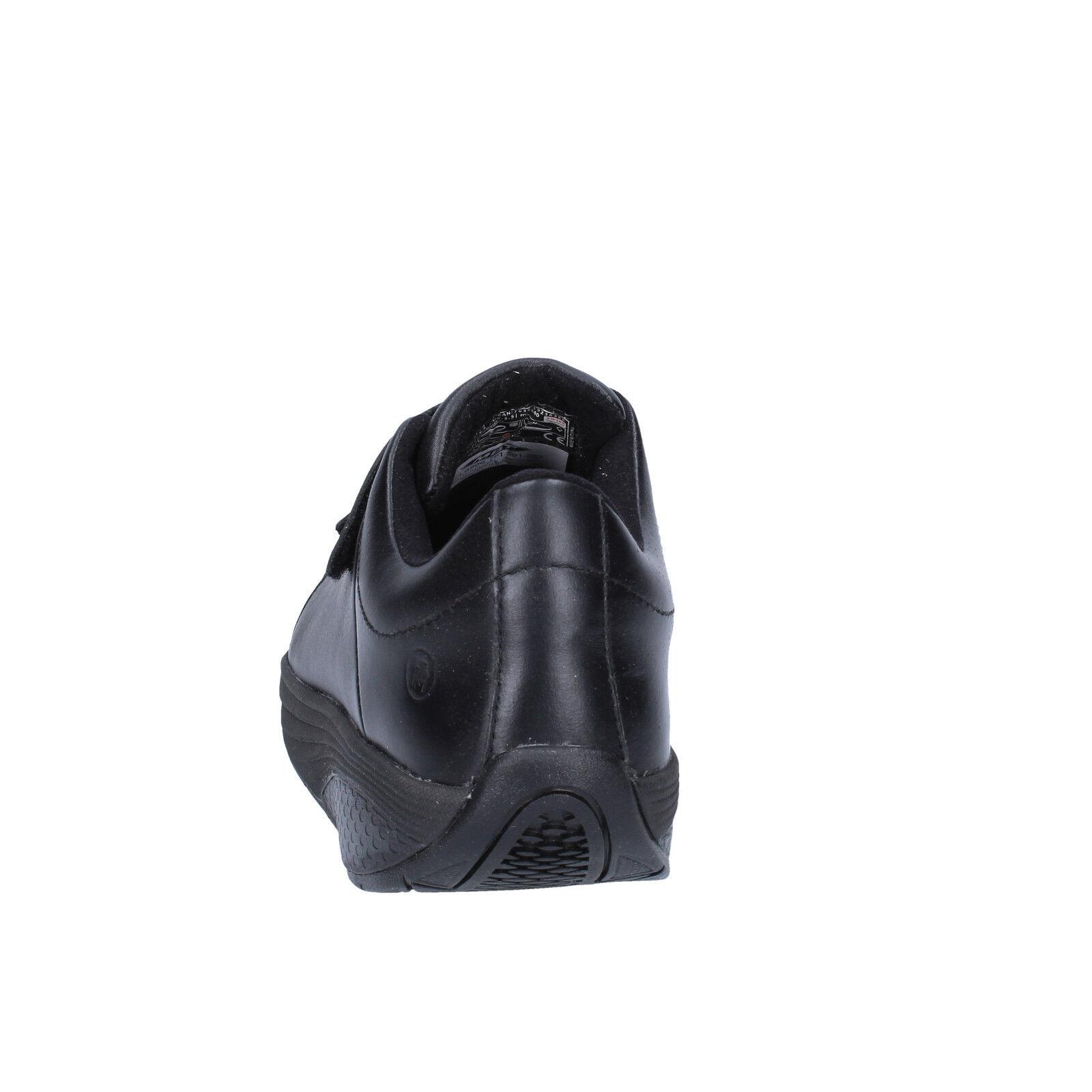 Woherren Woherren Woherren schuhe MBT 5   5,5 (EU 36) Turnschuhe schwarz leather performance BT192-36 b62e9f
