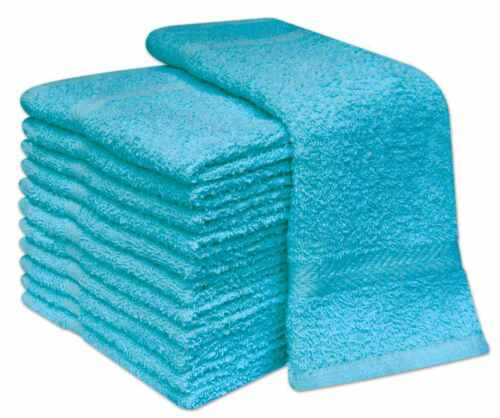 NEW PACK OF 100/% COTTON FACE CLOTH TOWELS FLANNELS WASH CLOTH 400 GSM
