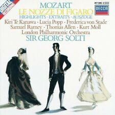 CD Wolfgang Amadeus Mozart Mozart Le Nozze Di Figaro (Auszüge) Sir Georg Solti
