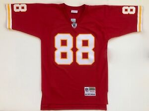 finest selection 87a47 4f0b4 Details about Tony Gonzalez Kansas City Chiefs Mitchell & Ness Throwback  Replica Jersey Large