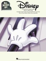 Disney All Jazzed Up Sheet Music Intermediate Piano Solos Piano Solo 000151072