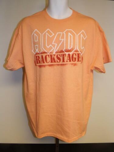 "NEW AC//DC /""Backstage/"" Mens Size S-M-L-XL-3XL Band Concert Shirt"
