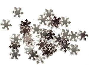 2,5g Schneeflocken Nailart  ohne Glitter Farbwahl. Nailarteinleger Winter